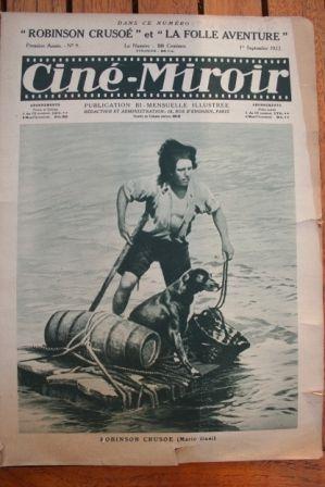 1922 Robinson Crusoe Lucio Mario Dani Gaston Leprieur