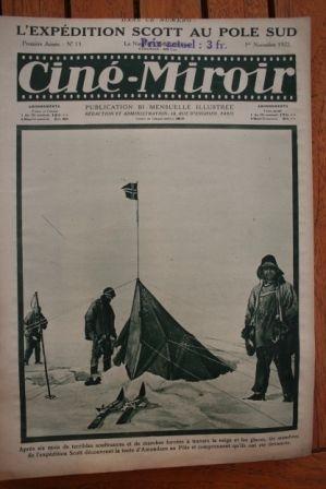 1922 Captain Scott South Pole Eternel Silence Mary Carr