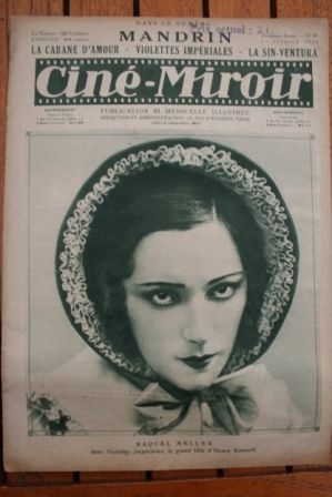 1924 Edna Purviance Raquel Meller Romuald Joube