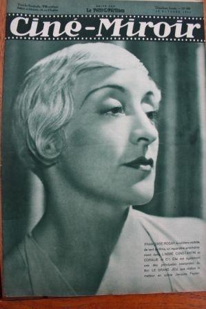 1933 Francoise Rosay Fredric March Claudette Colbert