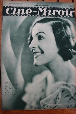 1933 Gaby Morlay Fay Wray Sally Eilers Cary Grant