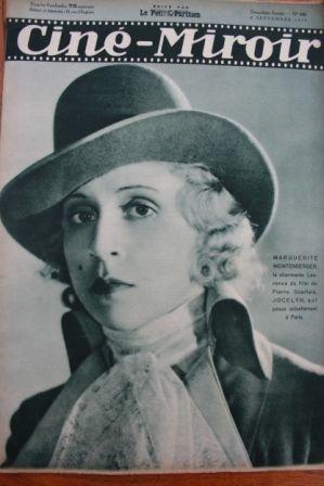 1933 Marlene Dietrich Fernandel Lisette Lanvin