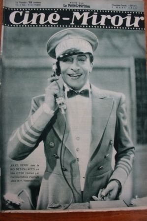 1933 Jules Berry Kate de Nagy Tramel Marie Bell