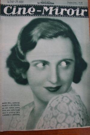 1933 Marie Bell Dolores Del Rio Jan Kiepura Noel Noel