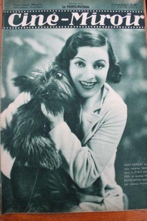 1933 Gaby Morlay Miriam Hopkins Kay Francis Jean Gabin
