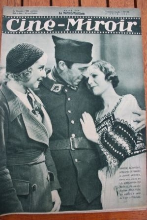 1933 Janet Gaynor Jean Harlow Buster Crabbe