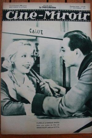 1933 Lili Damita Cary Grant Fernandel Samson Fainsilber