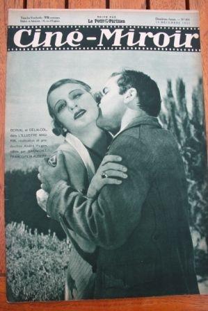 1933 Jean Gabin Delia Col Florelle Janet Gaynor