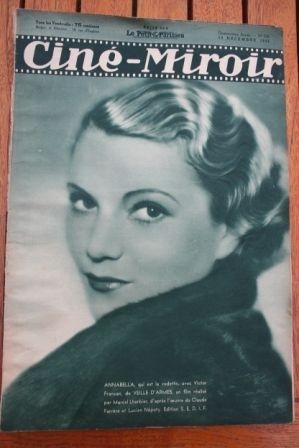 1935 Sylvia Sidney Josephine Baker Annabella Florelle