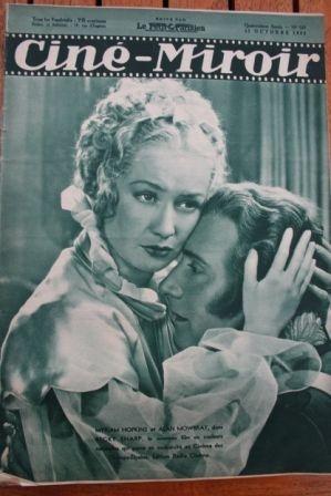 1935 Miriam Hopkins Katharine Hepburn Charles Boyer
