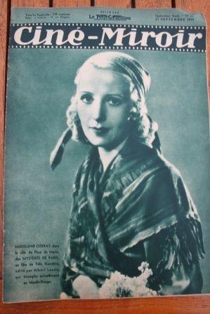 35 Jean Gabin Annabella Fritz Kortner Madeleine Ozeray