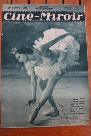 1937 Yvette Chauvire Katharine Hepburn Tino Rossi