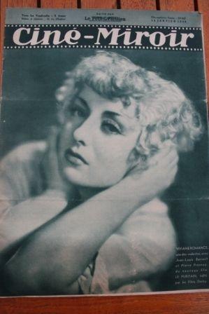 1938 Katharine Hepburn Viviane Romance Dita Parlo