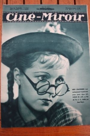 1938 Meg Lemmonier Danielle Darrieux Jules Berry
