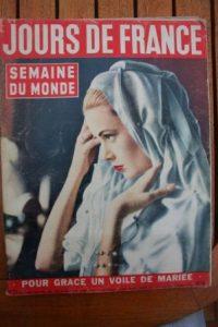1956 Vintage Magazine Grace Kelly Brigitte Bardot