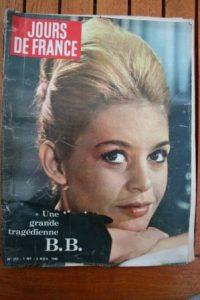 1960 Brigitte Bardot Chartres Mylene Demongeot