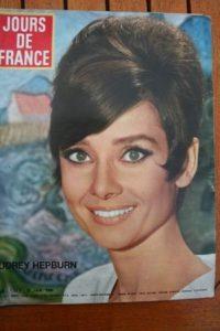 1966 Audrey Hepburn Marie Laforet France Gall