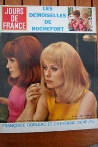 1967 Catherine Deneuve Francoise Dorleac Raquel Welch