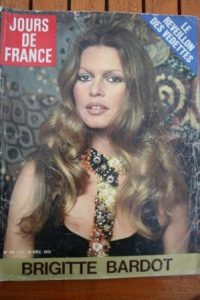 1972 Brigitte Bardot Dalida Mireille Darc Anna Karina