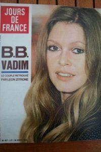 1972 Vintage Magazine Brigitte Bardot Petula Clark