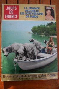 1980 Vintage Magazine Brigitte Bardot