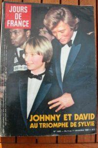1981 Johnny Hallyday Sylvie Vartan Louis De Funes