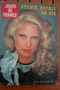 1981 Vintage Magazine Sylvie Vartan