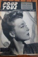 1947 Micheline Presle Linda Christian Cary Grant