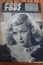 1947 Gloria Grahame Betty Grable Myrna Loy Mary Hatcher