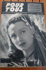 1947 Louise Carletti Yvonne De Carlo William Hartnell