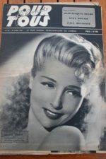 1947 Simone Renant June Haver Yvonne De Carlo