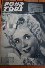 1947 Noel Neill Laurel And Hardy Luis Mariano Fernandel