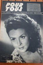 1947 Renee Saint Cyr Bourvil Anne Jeffreys