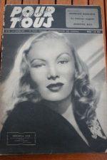1947 Veronica Lake Alan Ladd Lynn Bari Josette Day
