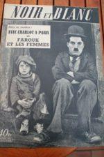 1952 Magazine Charles Chaplin Jackie Coogan The Kid