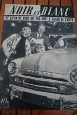 1952 Vintage Magazine Michele Morgan