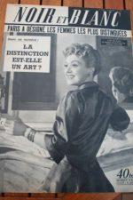 1952 Vintage Magazine Edwige Feuillere Buffalo Bill