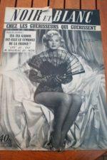 1953 Vintage Magazine Zsa Zsa Gabor
