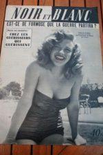 1953 Original Vintage Magazine Marilyn Monroe !!!!