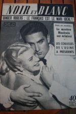 1953 Vintage Magazine Ginger Rogers Jacques Bergerac