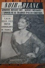 1953 Vintage Magazine Simone Renant