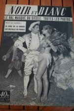 1953 Vintage Magazine Zizi Jeanmaire