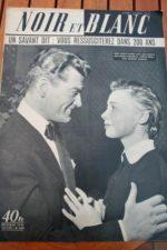 1953 Vintage Magazine Jean Marais Dany Robin