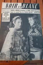 1954 Vintage Magazine Michele Morgan Daniel Gelin