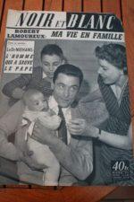 1955 Vintage Magazine Robert Lamoureux