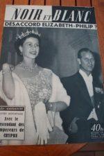 1956 Vintage Magazine Queen Elizabeth