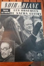 1957 Sacha Guitry Richard Skelton Jr And Red Skelton
