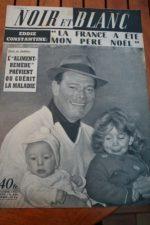 1957 Vintage Magazine Eddie Constantine
