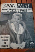 1958 Vintage Magazine Lana Turner