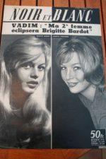 1959 Vintage Magazine Brigitte Bardot Annette Stroyberg